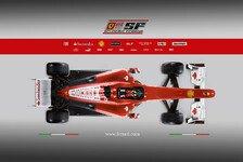 Formel 1 - Die wichtigen Verbesserungen am neuen Ferrari: Der Ferrari F10 wurde v�llig neu entworfen