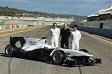 Formel 1 - Sauber stellt neuen Boliden in Valencia vor