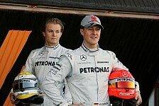 Formel 1 - Bevorzugung: ja oder nein?: Michael Schumacher und die Teamkollegen