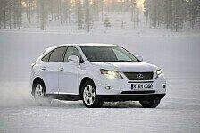 """Auto - Clevere Kraftverteilung: Lexus Hybrid Drive mit """"Snow""""-Modus"""