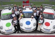 Mehr Motorsport - Pr�dikat ausgezeichnez: Porsche testet Talente in Italien