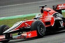 Formel 1 - Kurzer Auftritt der Jungfrau: Virgin beendet Testtag vorzeitig