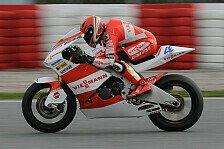Moto2 - Testr�ckstand beim Testen geholt: Bradl und Leonov fuhren nur einen halben Tag
