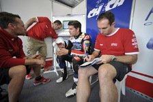 Superbike - Byrne: Hoffe auf Ruhe heute Nacht: Checa froh, Byrne mit Schmerzen