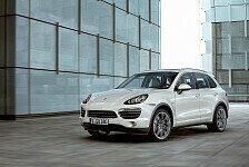 Auto - Effizienter, sportlicher und erstmals auch mit Hybrid-Antrieb: Weltpremiere in Genf: Der neue Porsche Cayenne