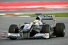 Formel 1 - Video: Formel 1, Comeback-Auto: Die Geschichte des Mercedes W01