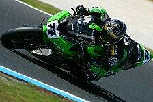 Superbike - Sykes zahlte f�r Fehler anderer: Vermeulen mischte wieder mit