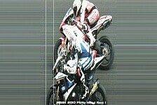Superbike - So knapp war Haslams Sieg in Lauf 1: Das Zielfoto von Australien
