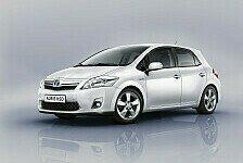 Auto - Vorteile der Hybridtechnologie selbst erfahren: Toyota Auris Hybrid Kundentestfahrten