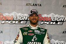 NASCAR - Der Liebling der Nation ist aufgewacht: Pole f�r Dale Earnhardt Junior in Rekordzeit