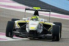 GP3 - F�r den ersten Auftritt nicht schlecht: Van der Zande Trainingsschnellster