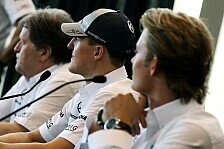 Formel 1 - Mit ganzem Herz und vollem Einsatz: Schumacher bedauert Haug-Abschied