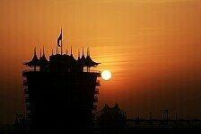 Formel 1 - Unter Flutlicht: Startzeit f�r Bahrain GP fixiert