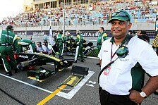 Formel 1 - Chapman w�re stolz gewesen: Lotus feiert den starken Auftakt