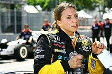 IndyCar - Die ersten F�hrungsrunden: Gutes Deb�t f�r Simona de Silvestro