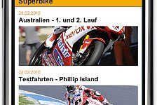 MotoGP - News, Bilder, Termine f�r unterwegs: Die MotoGP auf dem iPhone & Handy