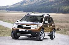 Auto - Der Rum�ne f�rs Gel�nde: Dacia Duster feiert Deutschlandpremiere