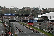 Formel 1 - Australien-Grand-Prix 2011 findet statt