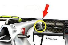 Formel 1 - Luftl�cher & Frontfl�gel: Tech-Update: Australien GP