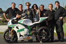 Moto2 - Schneller Retro-Look: Anthony West mit MZ auf Platz drei