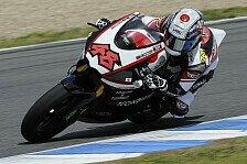Moto2 - Bradl st�rzt unverschuldet, L�thi f�hrt stark: Tomizawa gewinnt erstes Moto2-Rennen