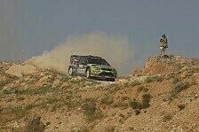 WRC - Aufh�ngung besch�digt: Crash von Hirvonen, Latvala in F�hrung