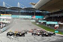 Formel 1 - Hei�e Zeiten in Sepang : Malaysia GP: Alles Wissenswerte im �berblick