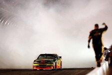 NASCAR - Kyle Busch �rgerte sich gr�n, wei� und schwarz: Last-Minute-Sieg f�r Ryan Newman
