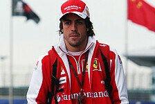 Formel 1 - Unwichtige Sache oder riskantes Man�ver?: Alonso w�rde China-Man�ver wiederholen