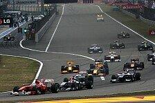 Formel 1 - Regenpoker in Shanghai: China: Button f�hrt McLaren-Doppelsieg an