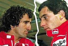 Formel 1 - Nicht die wahre Geschichte erz�hlt: Prost von Rollenbild in Senna-Film entt�uscht