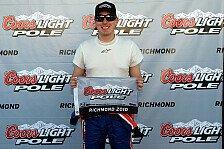 NASCAR - �berraschungen durch die kleinen Teams: Kyle Busch nach Richmond-Pole sehr optimistisch