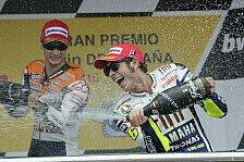 Valentino Rossi tritt zurück: MotoGP-Gegner zollen Respekt