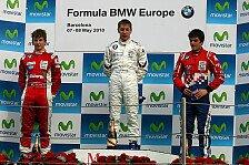 Formel BMW - Sainz erneut bester Rookie: Frijns gewinnt zweiten Lauf