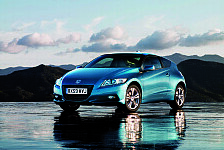Auto - Weltweit erstes Hybridfahrzeug mit 6-Gang-Schaltgetriebe: Honda CR-Z Hybrid-Sportcoupe
