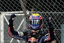 Formel 1 - Er wird besser und besser: Brabham und Jones trauen Webber Titel zu