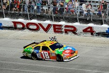 NASCAR - Jimmie Johnson verliert das Rennen in der Boxengasse: Kyle Busch und Toyota siegen auch in Dover