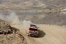 WRC - Schiff mit Motorschaden: Weitere Transport-Probleme