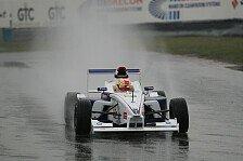 Formel BMW - Qualifying im Regen: Robin Frijns schwimmt zur ersten Pole