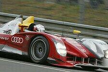 Mehr Motorsport - Trockener Start vorhergesagt: Audi f�hrt Bestzeit im Warm-up