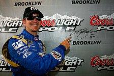 NASCAR - Landon Cassill schaffte die Qualifikation: Kurt Busch steht in Michigan auf Pole