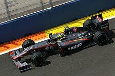 Formel 1 - Brechende Teile sorgten Mutter Viviane: HRT war f�r Senna ein riskantes Team