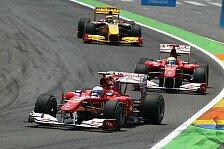 Formel 1 - 20 und 5 Sekunden Strafen: Zehn Fahrer nach dem Rennen bestraft
