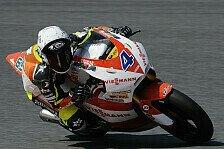 Moto2 - Zum Gl�ck nicht verletzt: Bradl trotz des Sturzes im Soll