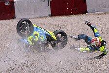 Moto2 - Crash-Pilot Rivas für zwei Rennen gesperrt