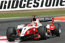 GP2 - Perez & Maldonado abgeschlagen: Jules Bianchi holt knappe Pole-Position