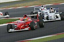 Formel BMW - Hansen siegt auf abtrocknender Strecke