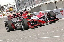 IndyCar - Folgt nun der erste Saisonsieg?: Justin Wilson erringt erste IndyCar-Pole