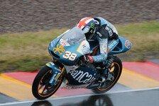 Moto3 - Eine 125cc-Session in zwei Teilen: Smith in Estoril vor Regenbeginn Schnellster