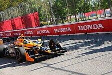 IndyCar - �berzeugendes Rennen in Toronto: Bestes Saisonresultat f�r Simona de Silvestro